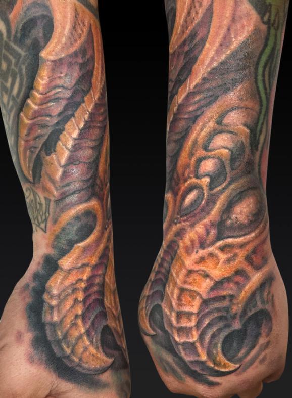 Tattoos - Chris Hall Hand - 122011