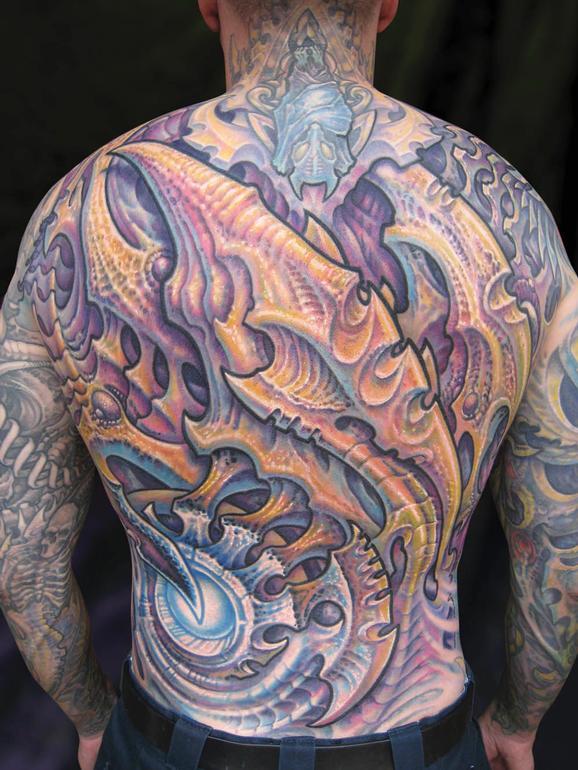 Tattoos - Don, Biomech backpiece - 75933