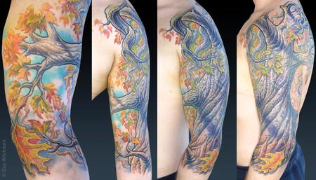 Tattoos - Uli, after two sessions - 71560