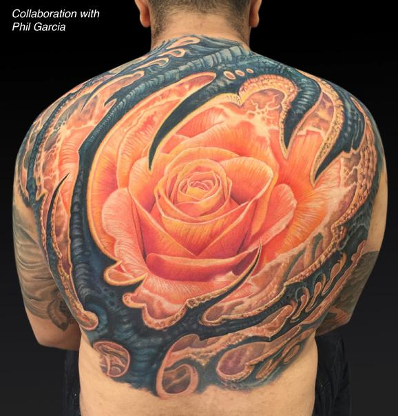Tattoos - Collaboration with Phil Garcia - 122003