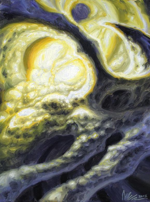 Guy Aitchison - Organic Glowpod, 2013