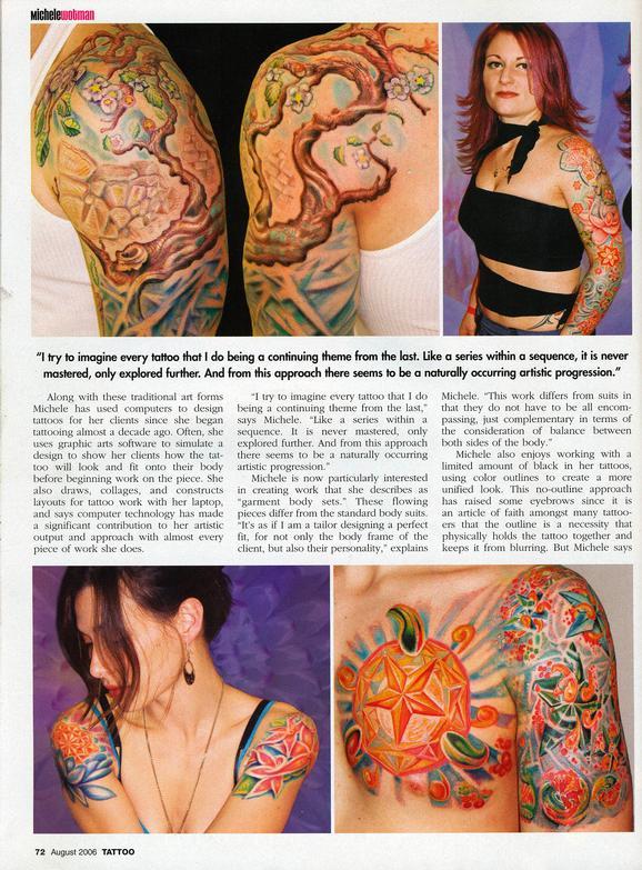 - Wortman, Tattoo Magazine, 2006, Page 2