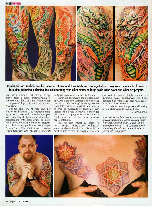 - Wortman, Tattoo Magazine, 2006, Page 4