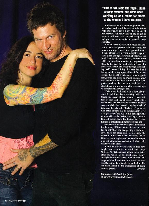 - Wortman, Tattoo Mag, 2008, Page 3