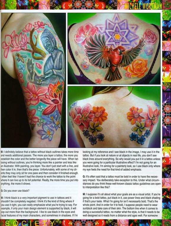 - Wortman - Tattoo Society Magazine, 2010, Page 3