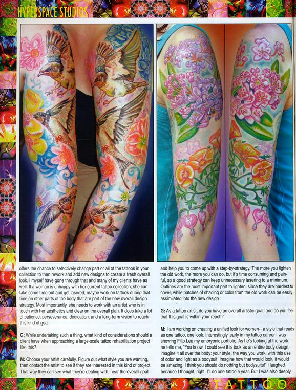 - Wortman - Tattoo Society Magazine, 2010, Page 6