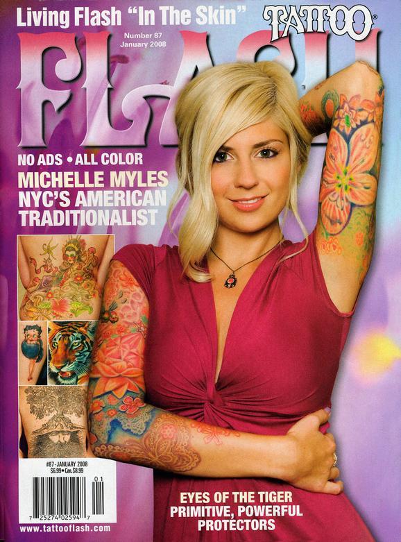 - Wortman, Flash Mag, 2008, Cover
