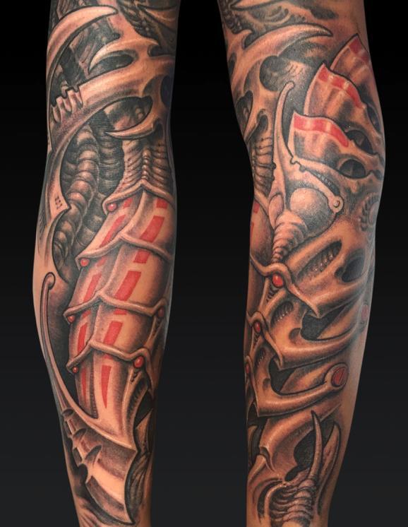 Tattoos - Black and Gray Bio - 122009