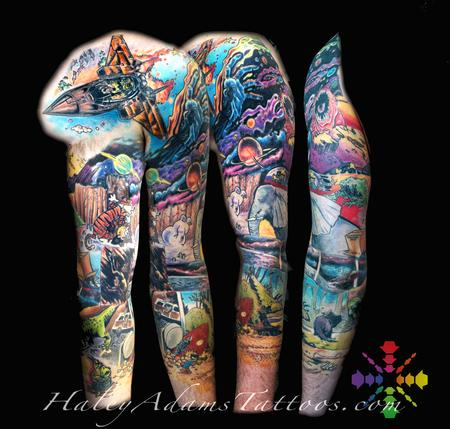 Tattoos - Calvin and Hobbes sleeve - 119719