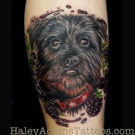 Tattoos - Puppa and Blackberries - 102278