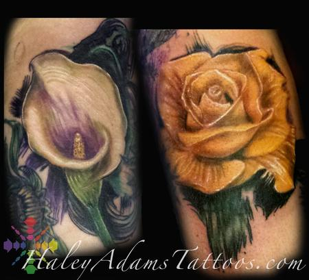 Tattoos - flower tattoos - 122820
