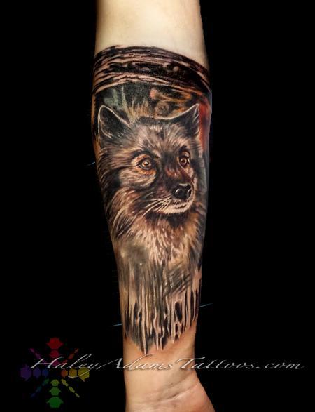 Tattoos - Luna dog - 132523