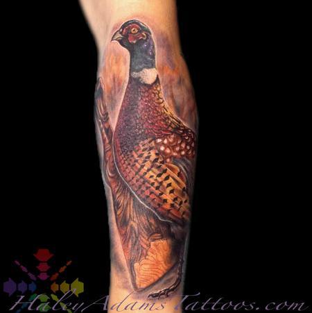 Tattoos - Pheasant Mr. Tobiko Speedboat - 123811