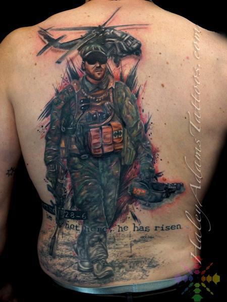 Tattoos - AUSTRALIAN MILITARY MEMORIAL PIECE - 127722