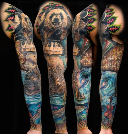 Tattoos - Elvin's Sleeve - 134771