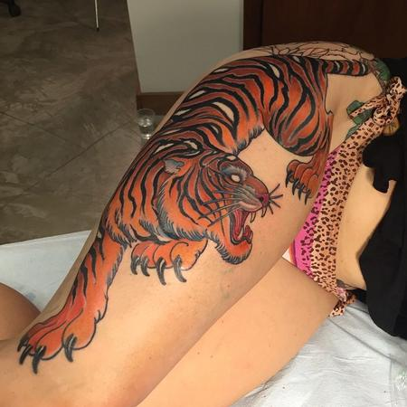 Tattoos - Tiger - 108291