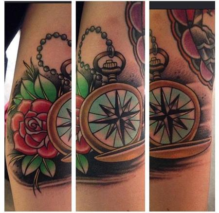 Tattoos - Traditional Compass - 109291