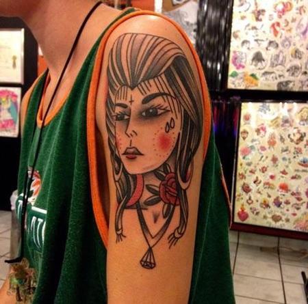 Tattoos - Chola Traditional - 109292
