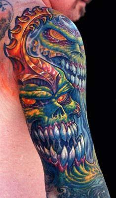 Tattoos - Skulls - 15209