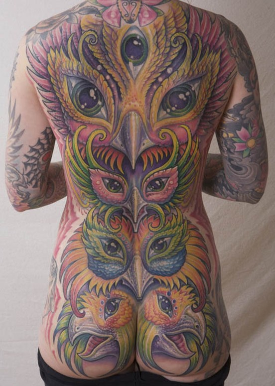 Backpiece Coverup Tattoo By Guy Aitchison Tattoonow