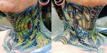 Tattoos - Bio Mech Collaboration - 29789