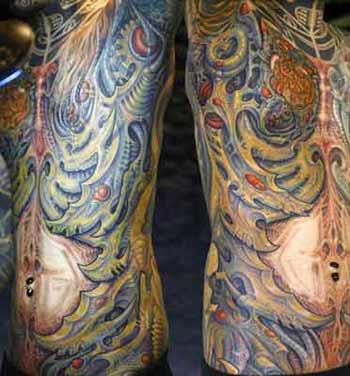 Tattoos - Biomech over whole Torso - 28320