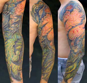 Tattoos - Bio-Organic Color Sleeve - 28635
