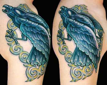 Tattoos - Crow - 29479