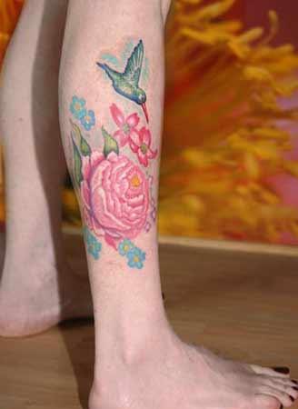 Michele Wortman - Humming Bird on Leg