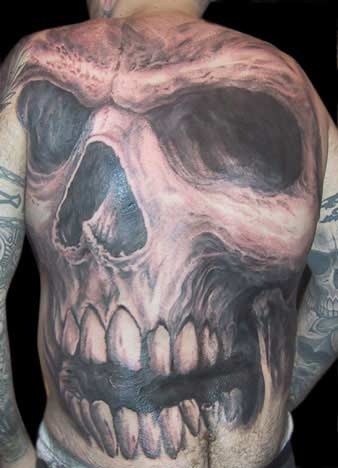 Guy Aitchison - Full Back Skull