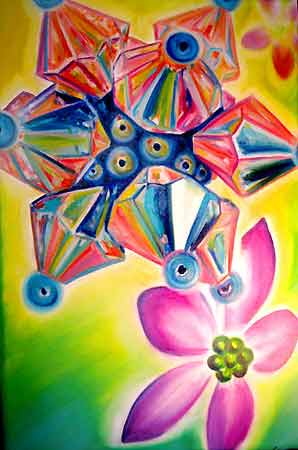 Michele Wortman - Painted live