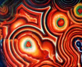 Michele Wortman - Orange Ripple