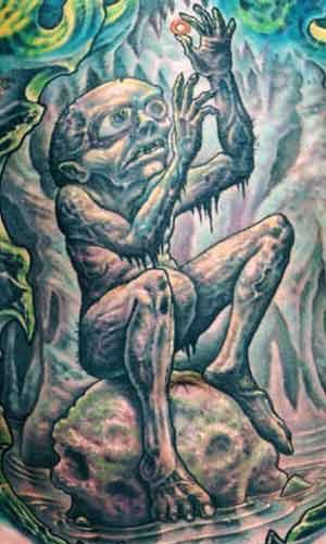 Guy Aitchison - J.R. Tolken Gollum