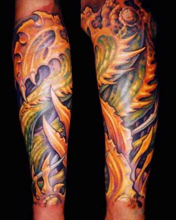 Tattoos - Bio Sleeve - 4552
