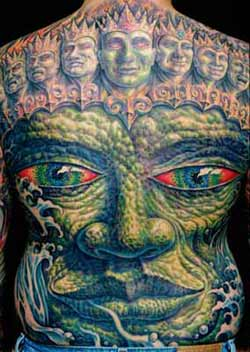 Tattoos - Back - 4550