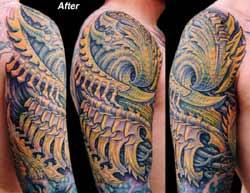 Tattoos - Bio Coverup - 4549