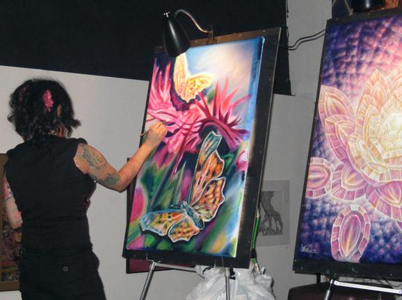 Michele Wortman - Moksha Art Basel 08