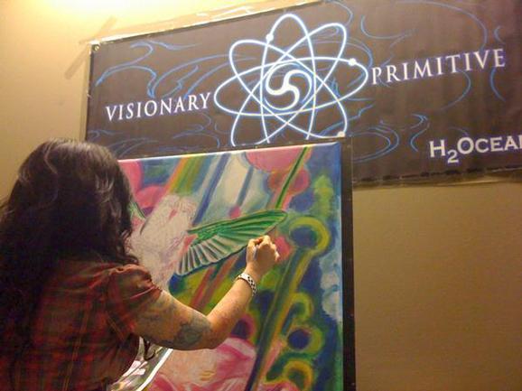 Michele Wortman - Visionary Primitive Chicago 08