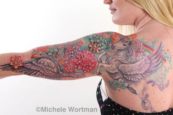Tattoos - shelley uni-peg  bodyset - 71352