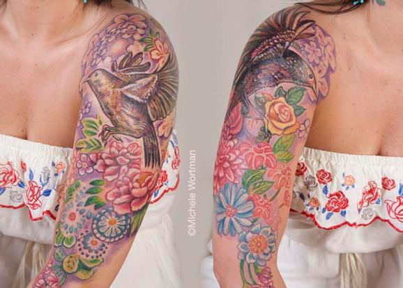 Tattoos - Robin bodyset - 71360