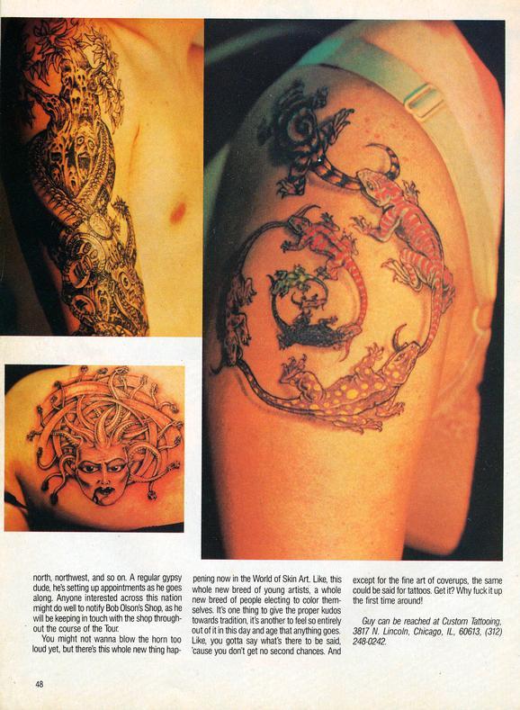 - Tattoo Revue 1990, page 5