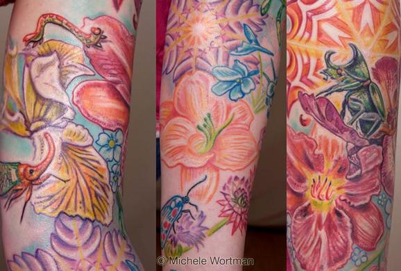 Michele Wortman - Amanda sleeve detail