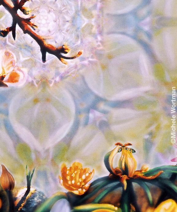 Michele Wortman - Spring detail