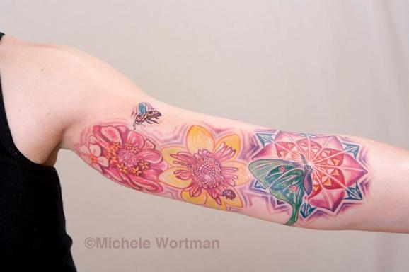 Michele Wortman - Yolanda inner arm