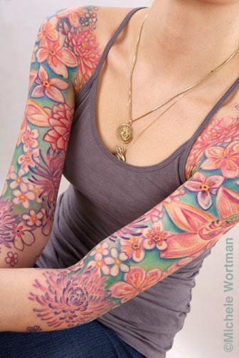 Tattoos - Mandy lotus bodyset - 71349