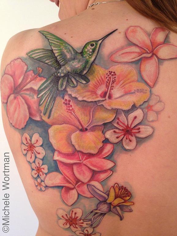 Michele Wortman - Staceys Healing Hummingbird Garden