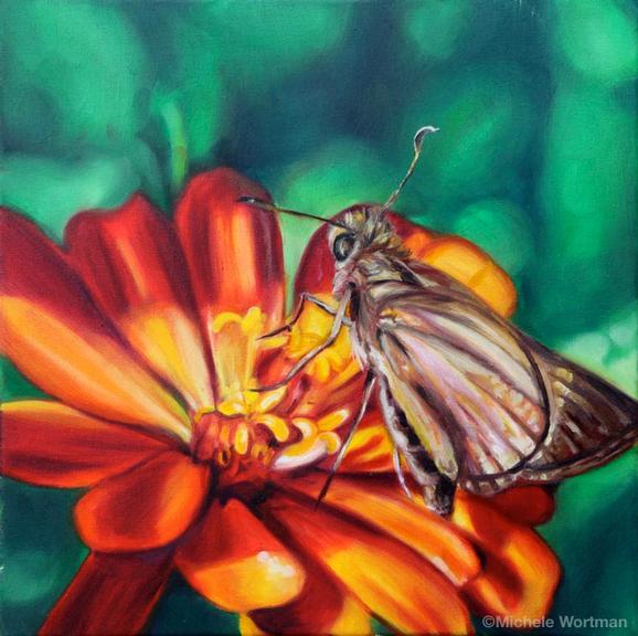Michele Wortman - Butterfly 110