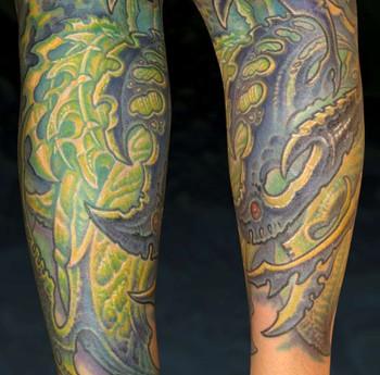 Tattoos - Bio Half sleeve - 33853