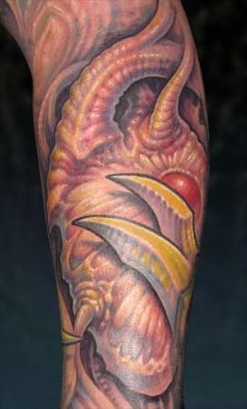 Tattoos - bio heart - 33872