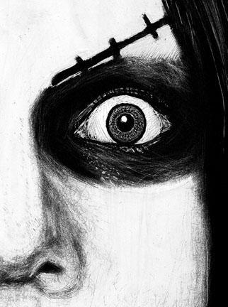 Guy Aitchison - Larry Brogan: Gore Whore (detail)